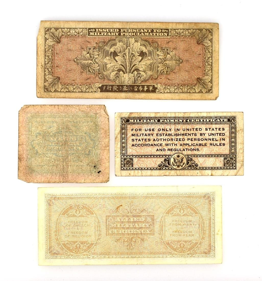 WW2 Military Currency - 2