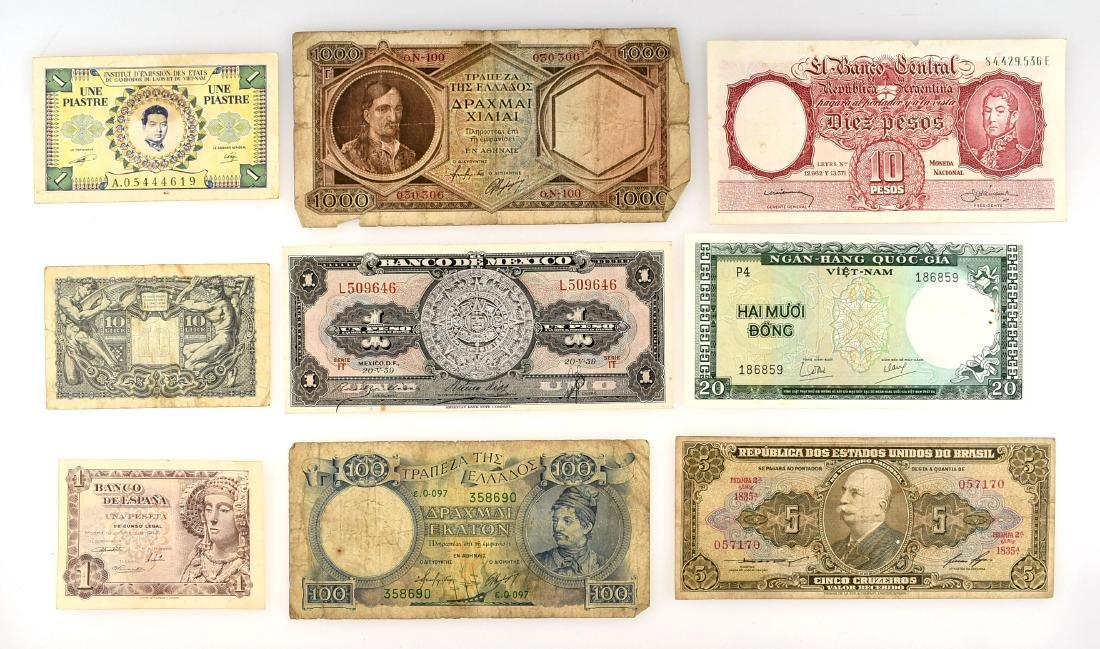 Assorted Vintage Currency