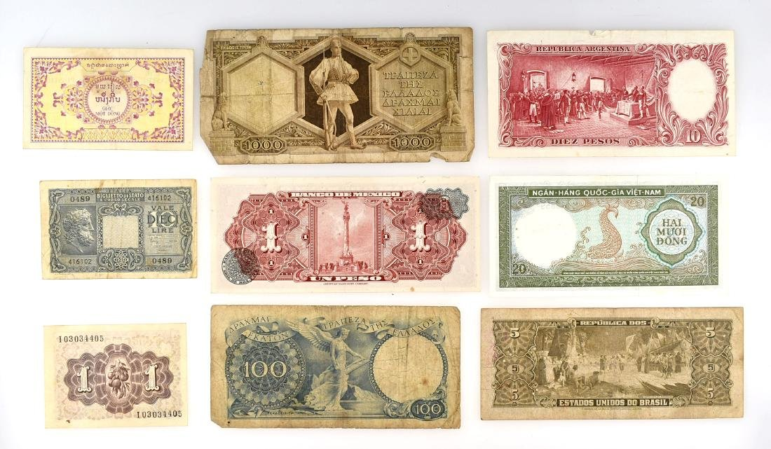 Assorted Vintage Currency - 2