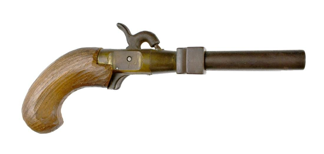 "10"" Duck Foot Blackpowder Naval Pistol - 2"