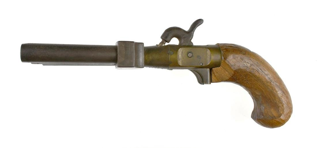 "10"" Duck Foot Blackpowder Naval Pistol - 4"