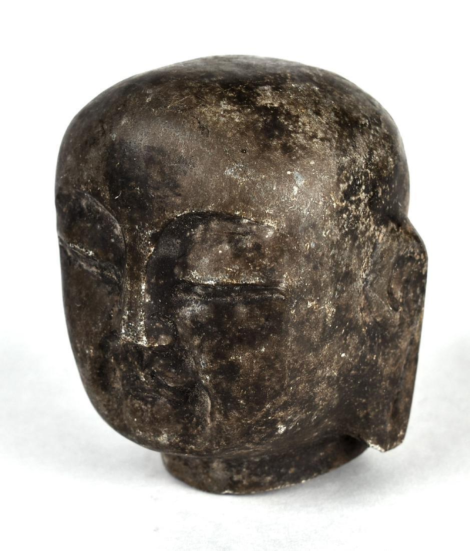 "3 3/8"" Buddha Head - 2"