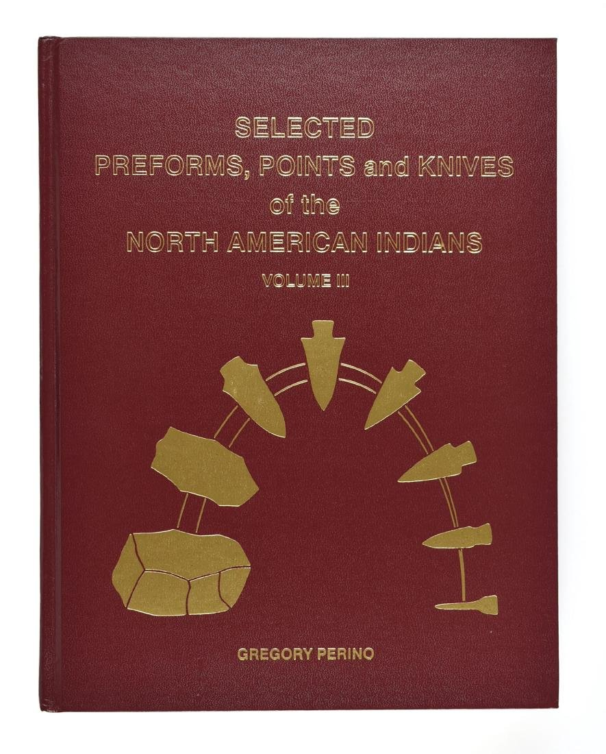 SIGNED Vol 3. Selected Preforms Points and Knives -