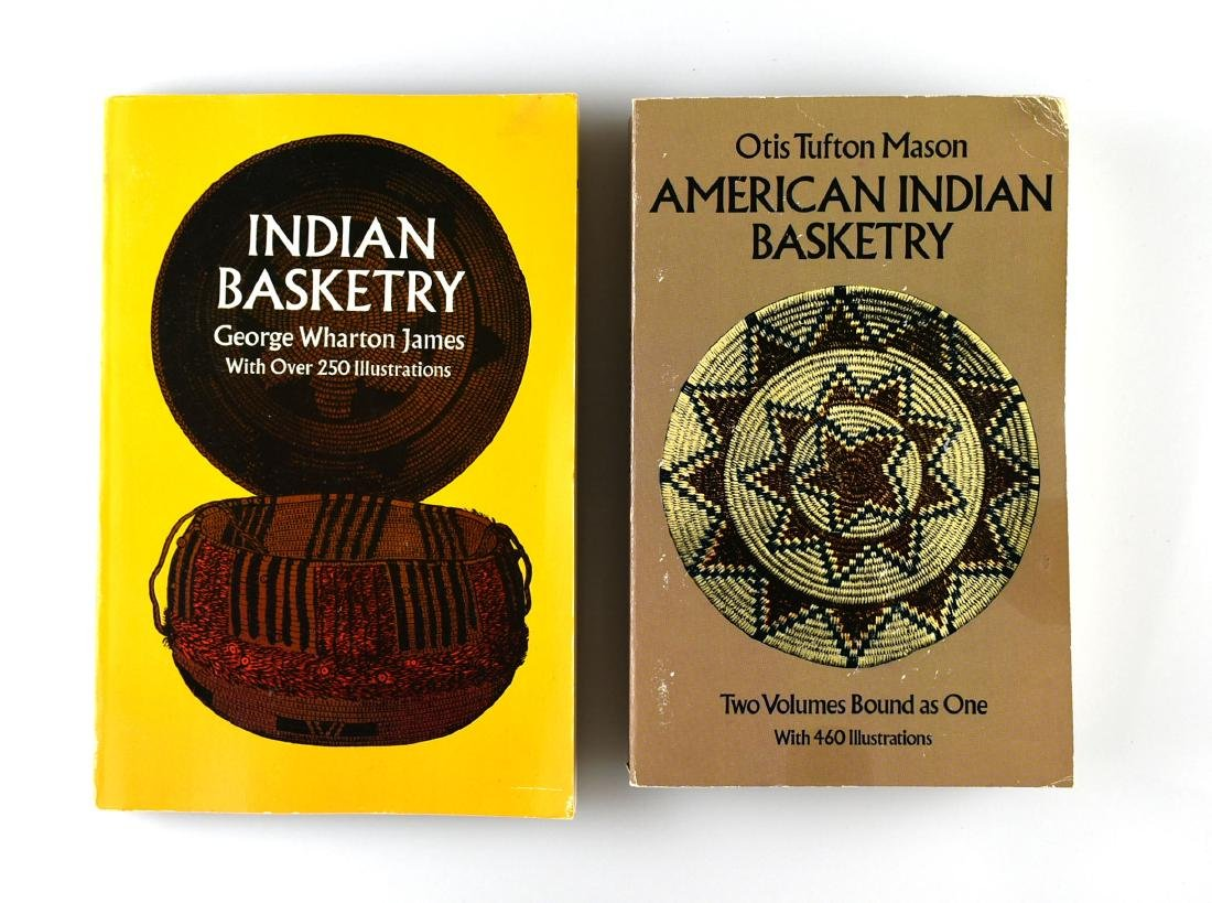 Pair of Basketry Books