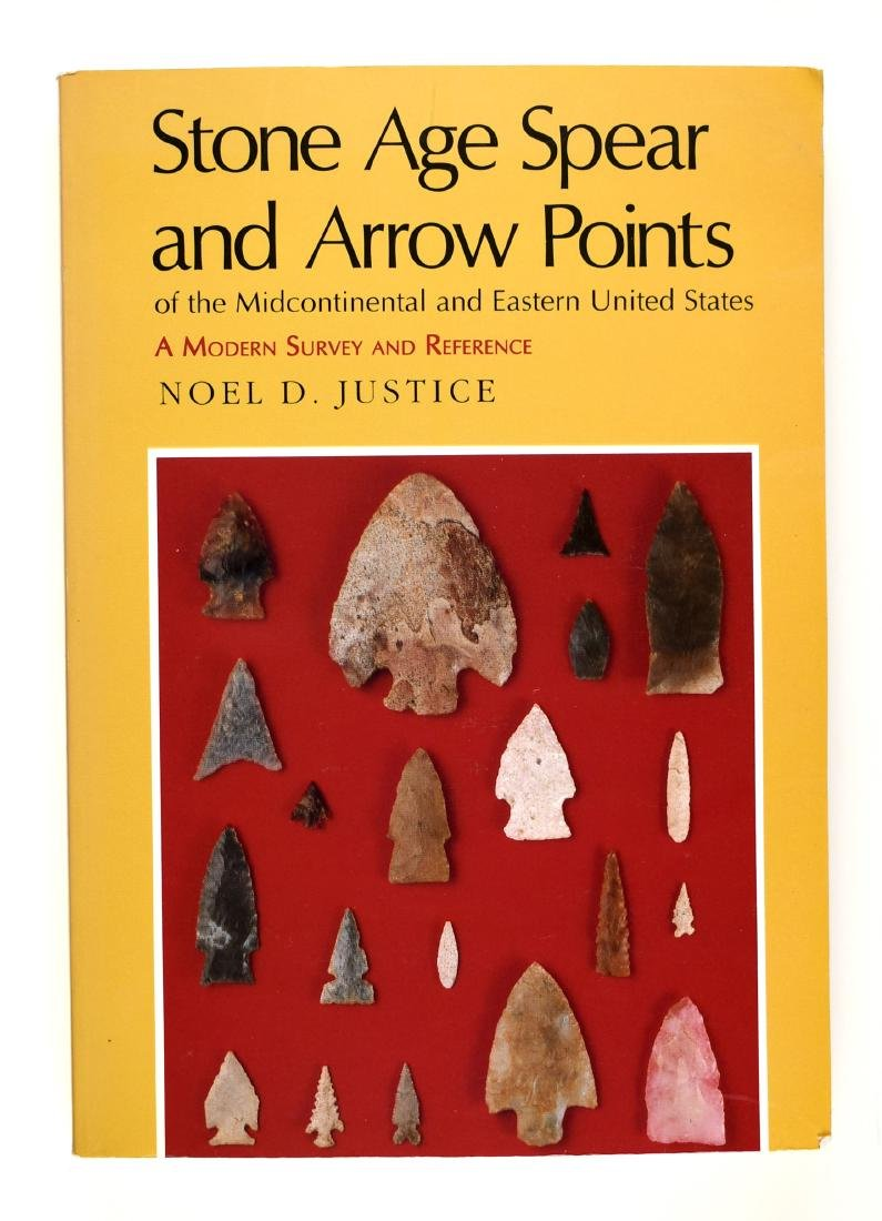 Noel Justice - Stone Age Spear and Arrow Points