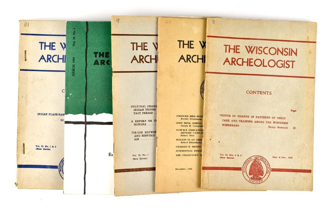 5 Wisconsin Archaeologists