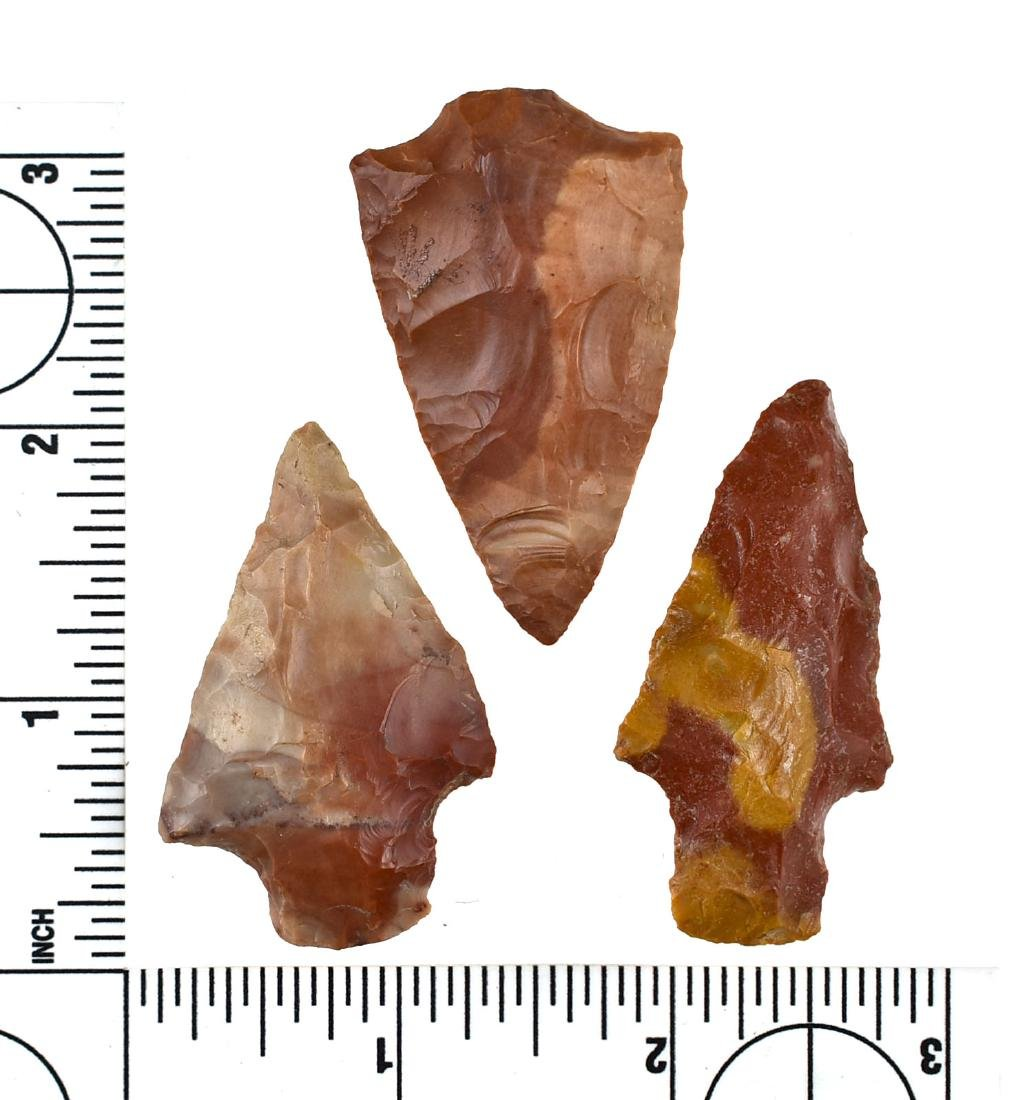 3 Horse Creek Chert Points