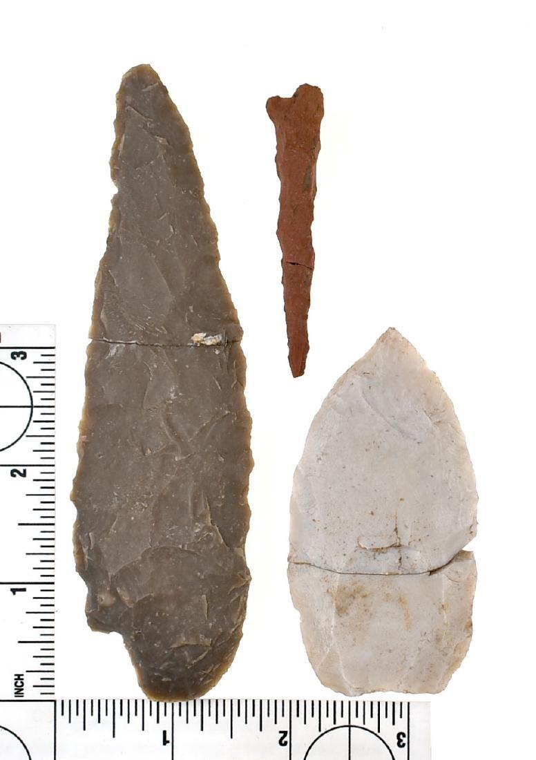 3 Broken & Glued Artifacts