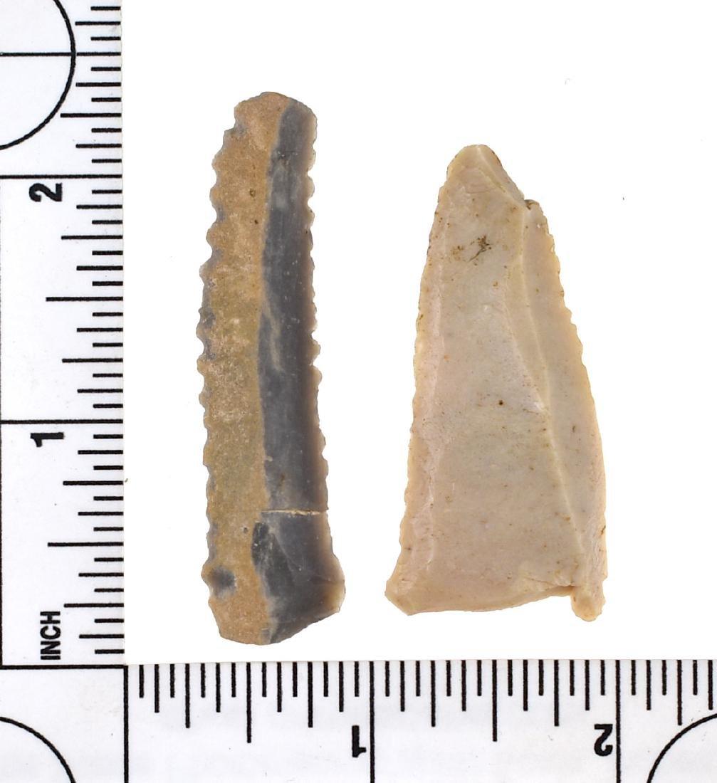 Pair of Fine Kentucky Paleo Tools