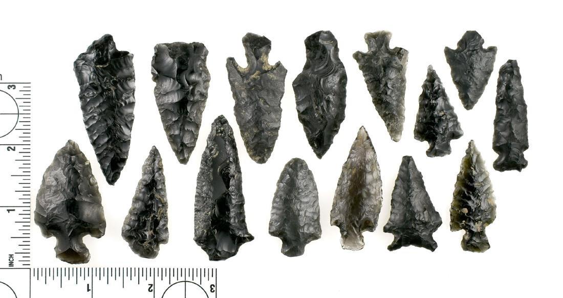 15 PreColumbian Arrowheads/Knives