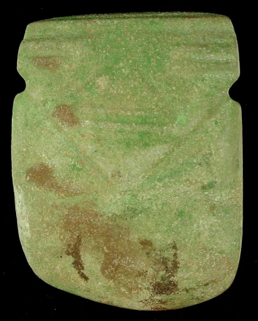 Pre-Columbian Jade Axe God - Costa Rica