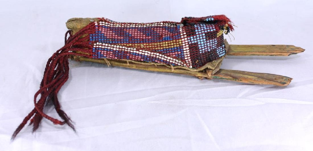 Early ca. 1880's Native American Beaded Child's