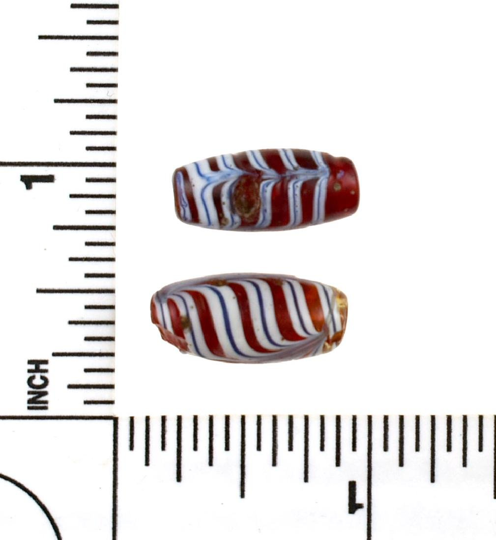 Pair of Fancy Trade Beads