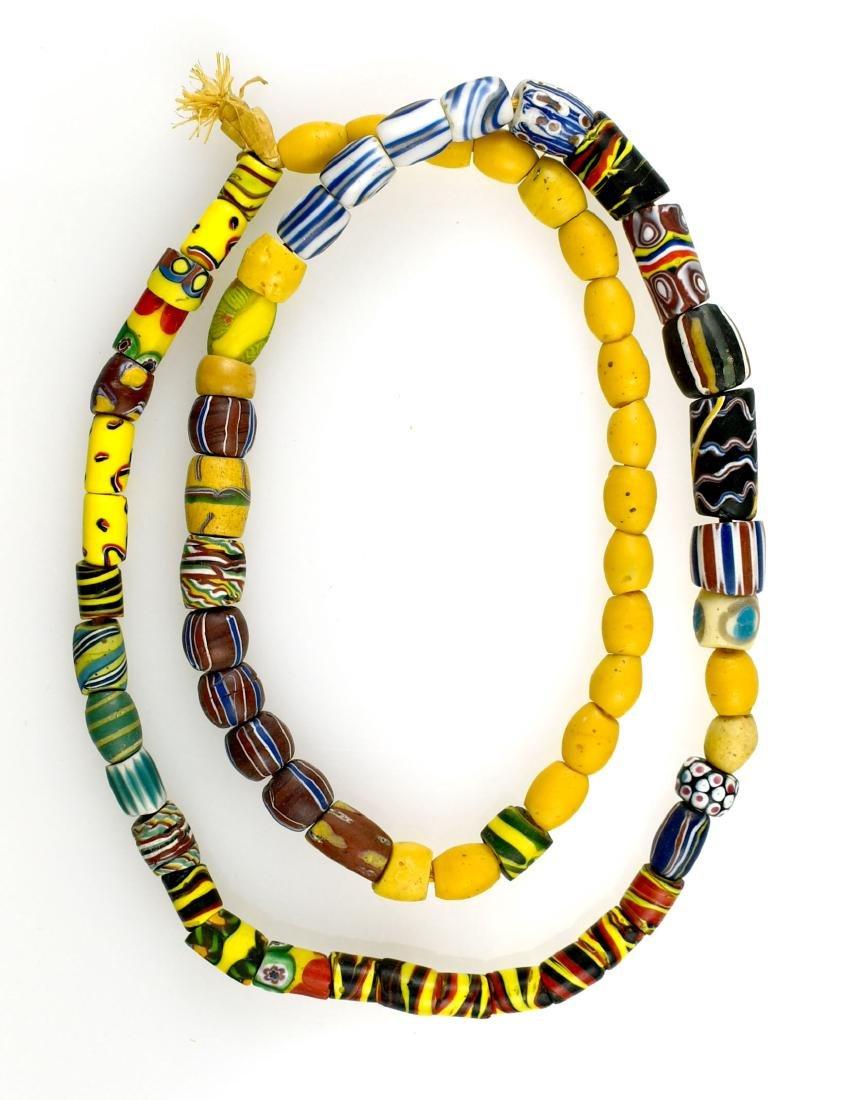 """28"""" Fancy Trade Beads"""