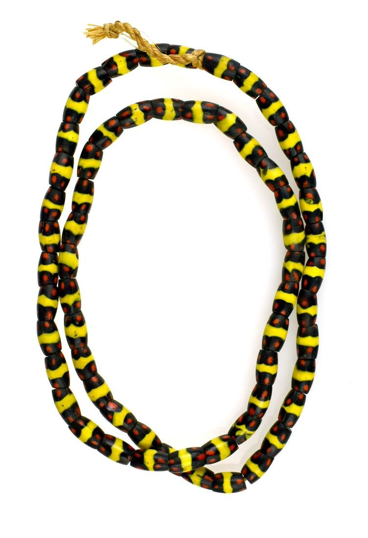 "30""  Fancy Trade Bead Necklace"