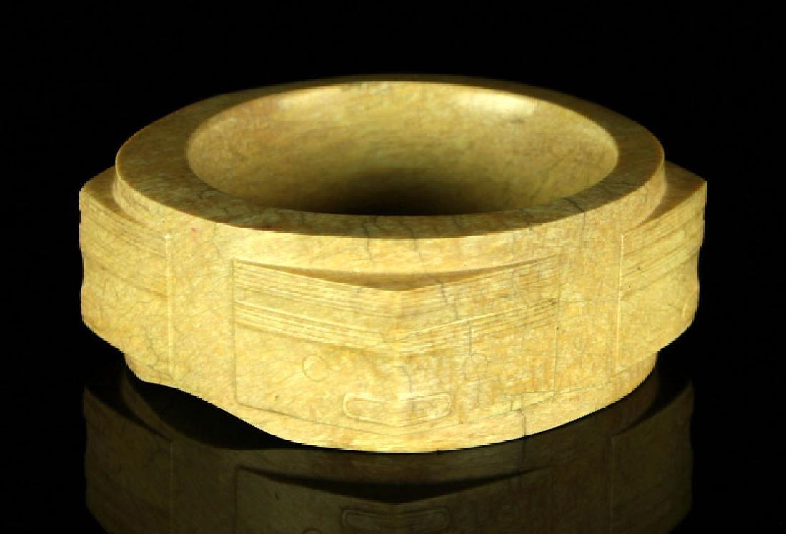 Museum Quality Chinese Liangzhu Culture Jade Cong - 3