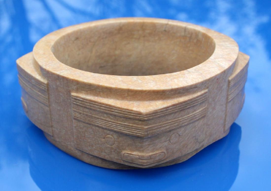 Museum Quality Chinese Liangzhu Culture Jade Cong - 8