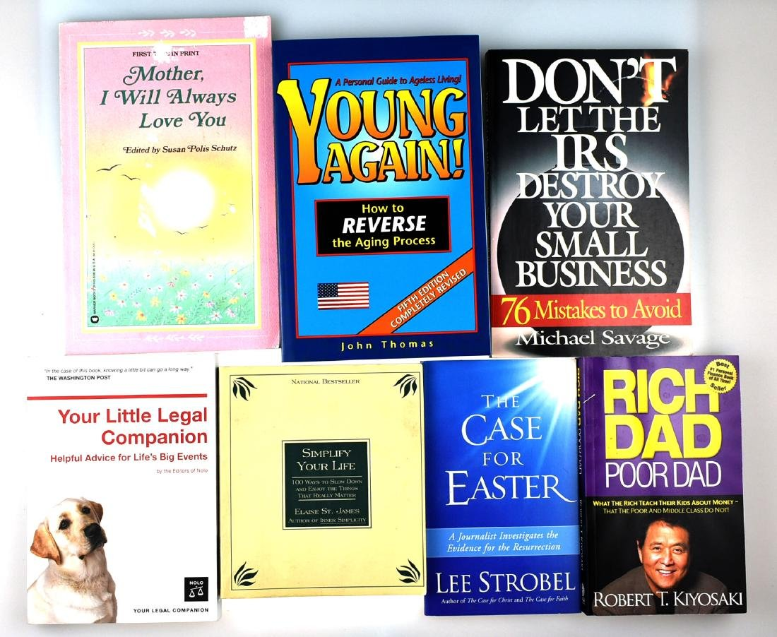 7 Assorted Interest Books