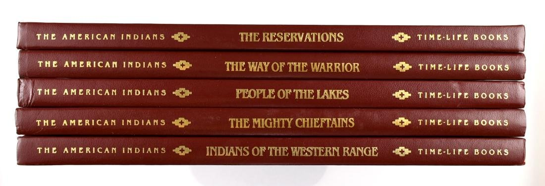 5 Time Life Books on Indians