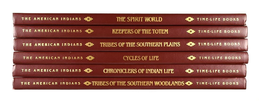 6 Time Life Indians Books