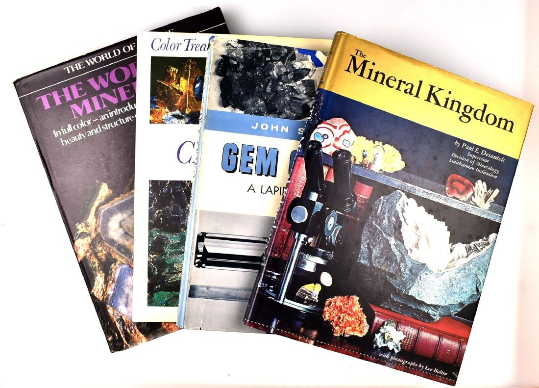 4 books on Gems and Minerals