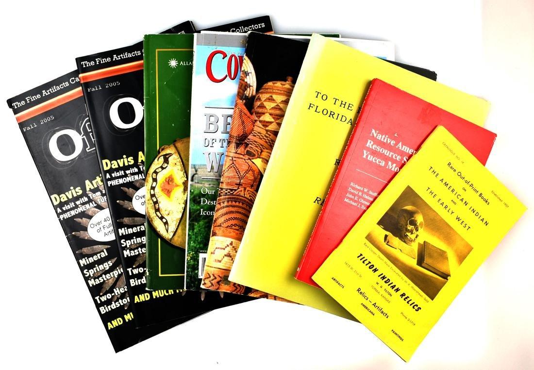 8 Assorted Native American Interest Books