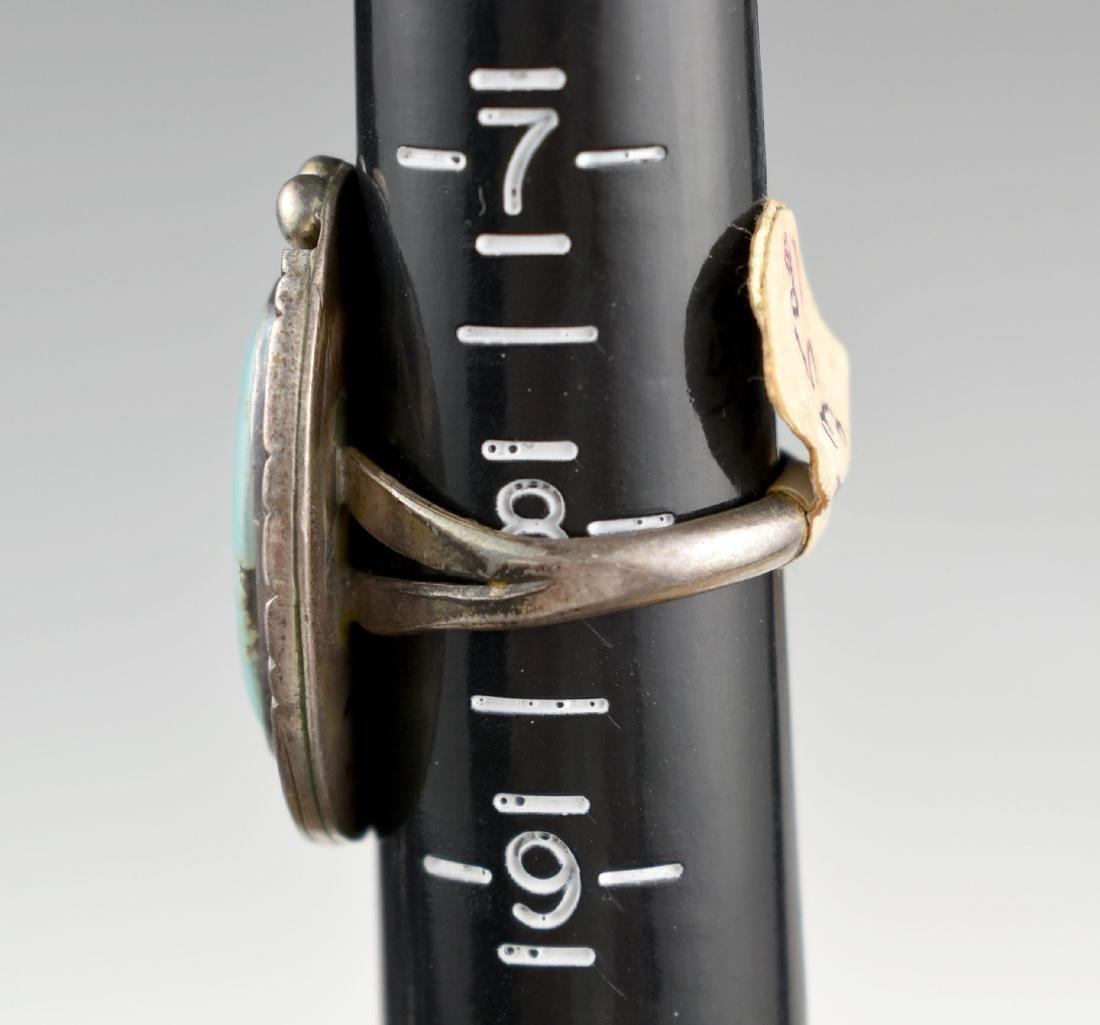 Southwestern Silver Ring - 2