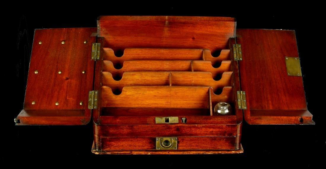 18th Century Antique Continental Letter Box - 2
