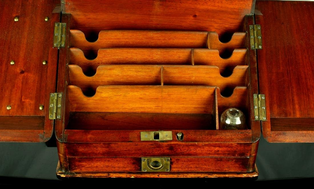 18th Century Antique Continental Letter Box - 3