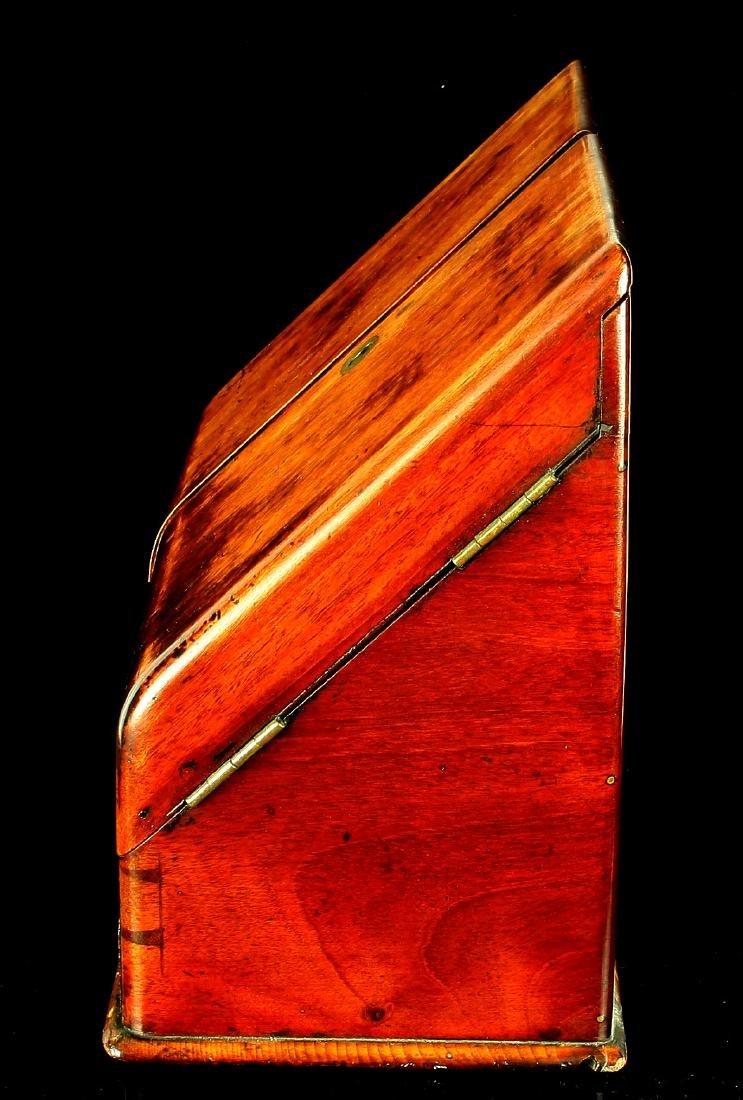 18th Century Antique Continental Letter Box - 5
