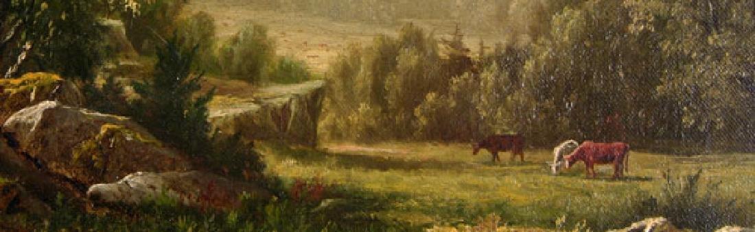 Fabulous American Artist Charles Knapp (1823-1900) Oil - 2