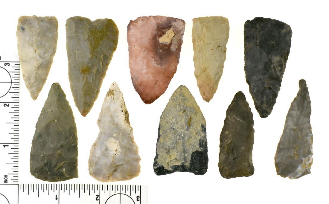 10 Fine Kentucky Large Triangular Knives