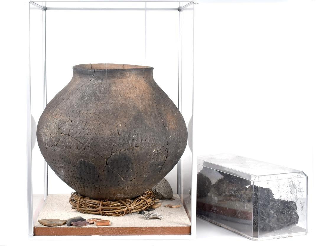"""MASSIVE 14x11.75"""" Puebloan Pot *Restored"""