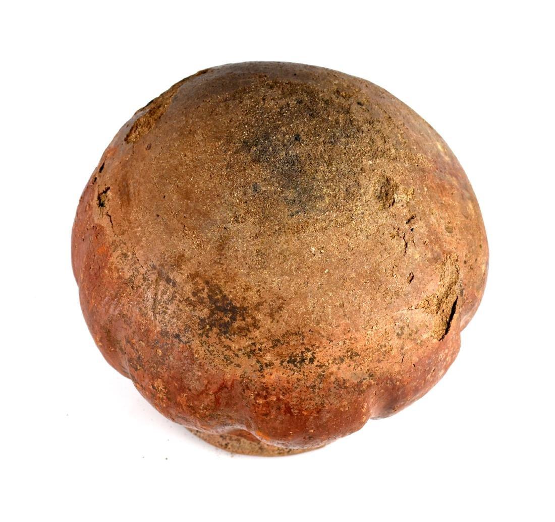 "5x4.25"" Casas Grandes Playas Gourd Jar - 4"