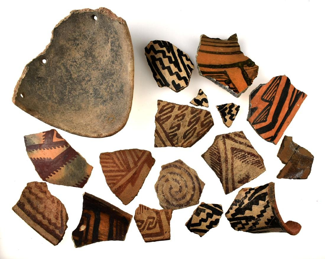 Anasazi Pottery Shards