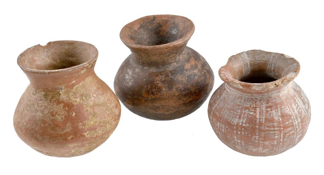 3 Colima Jars