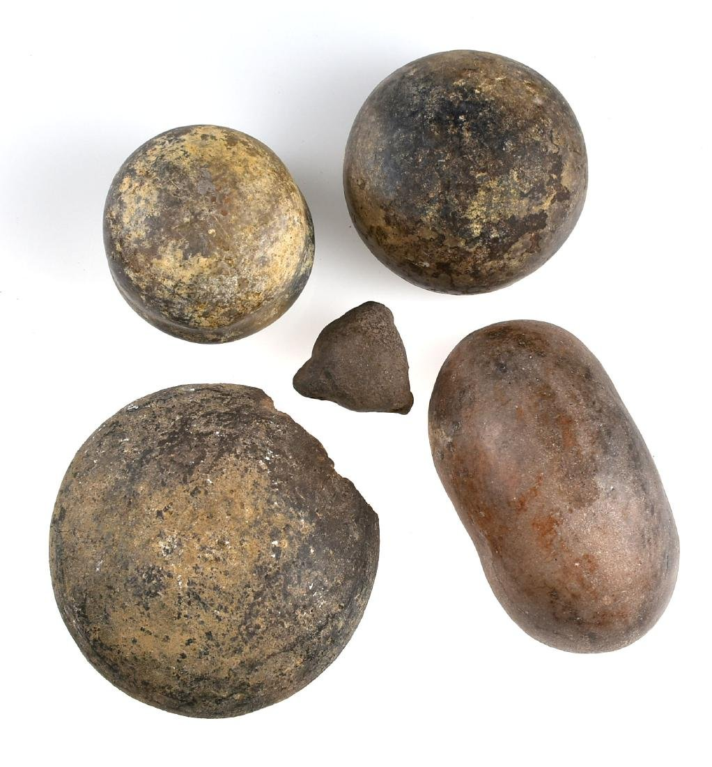 5 PreColumbian Pottery Pieces - 3