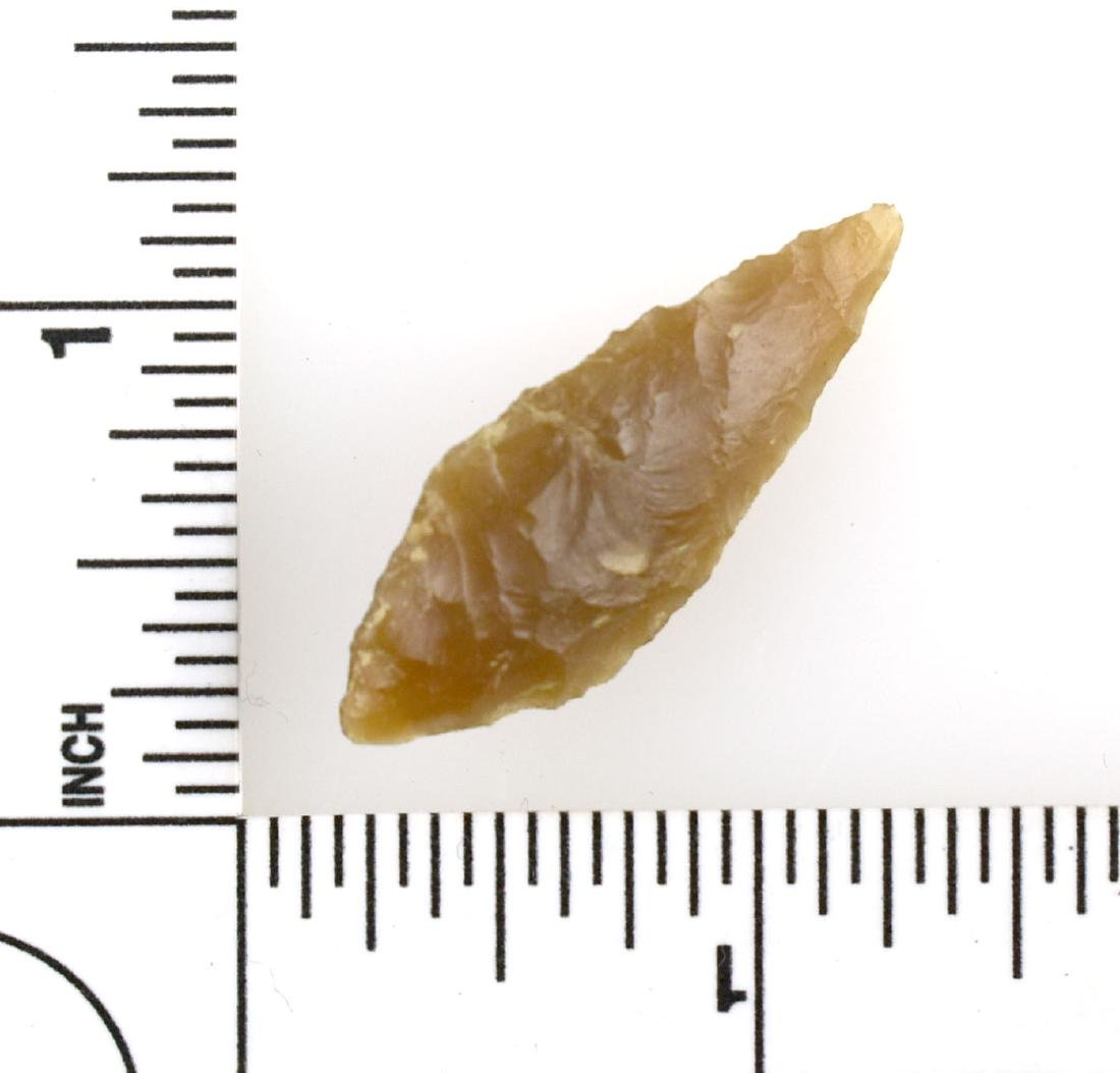 Rare 37mm Flint Arrowhead from Afghanistan - 2