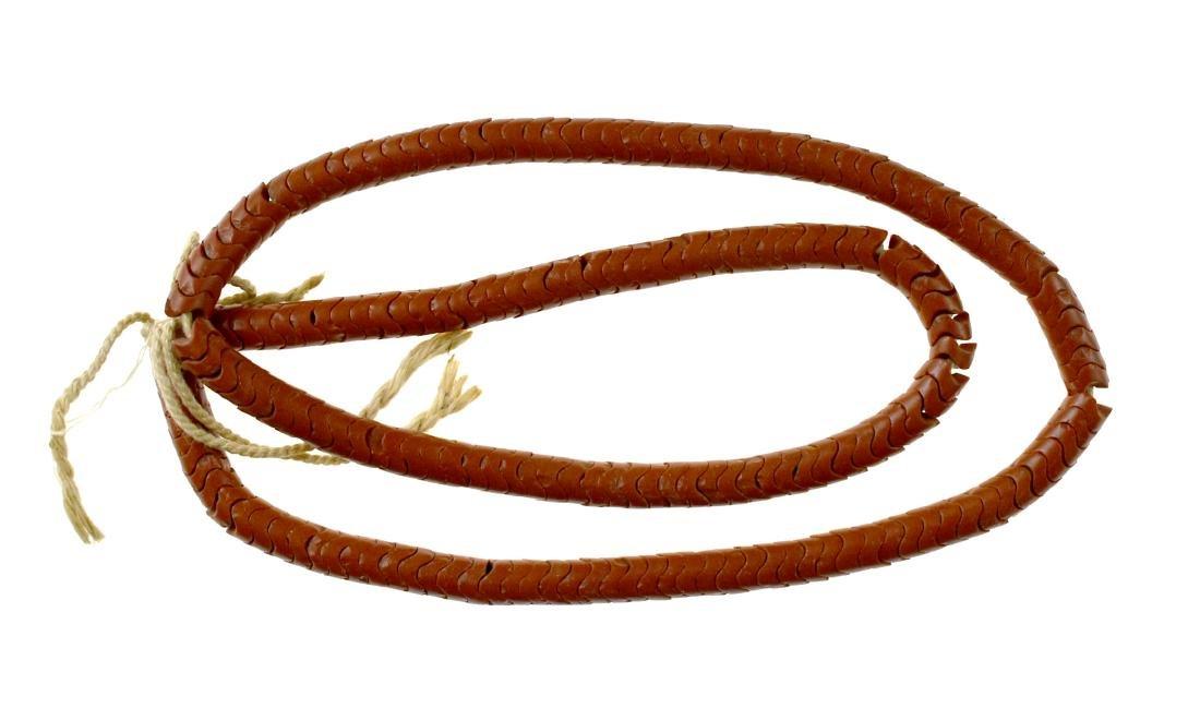"""29"""" Catlinite Bead Necklace"""