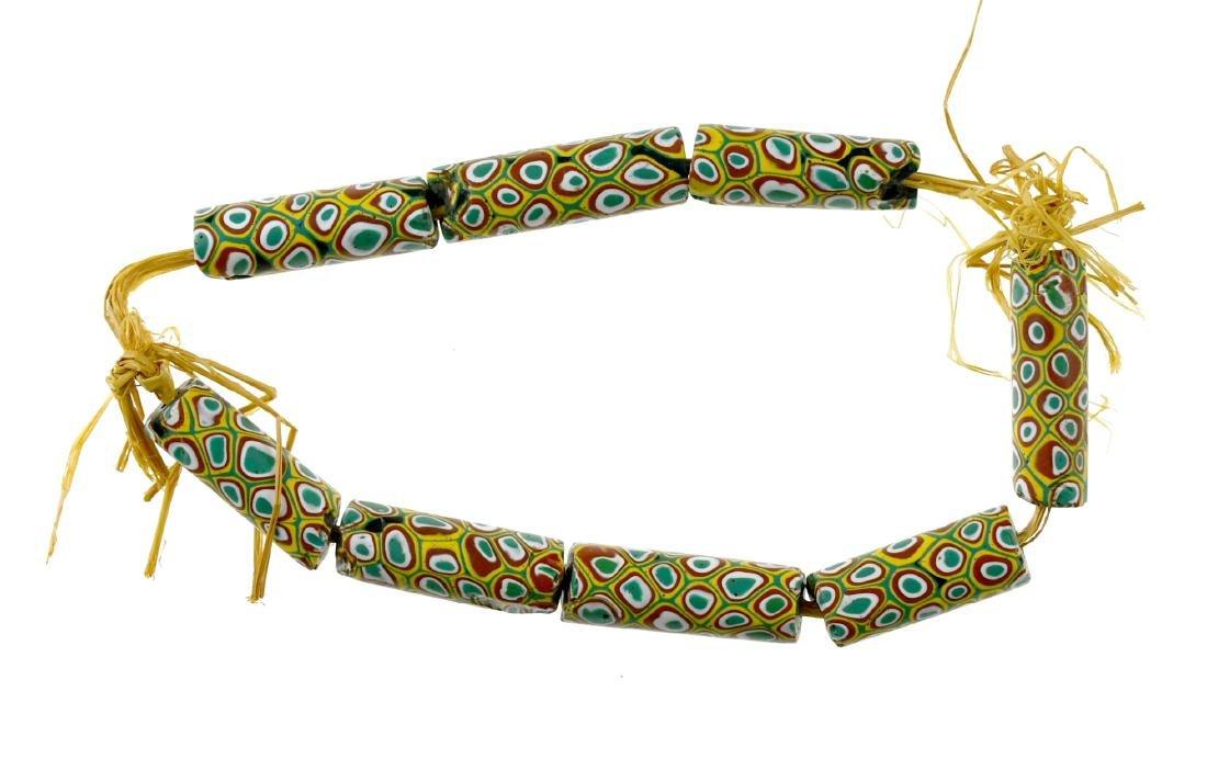 "12"" Trade Bead Necklace"