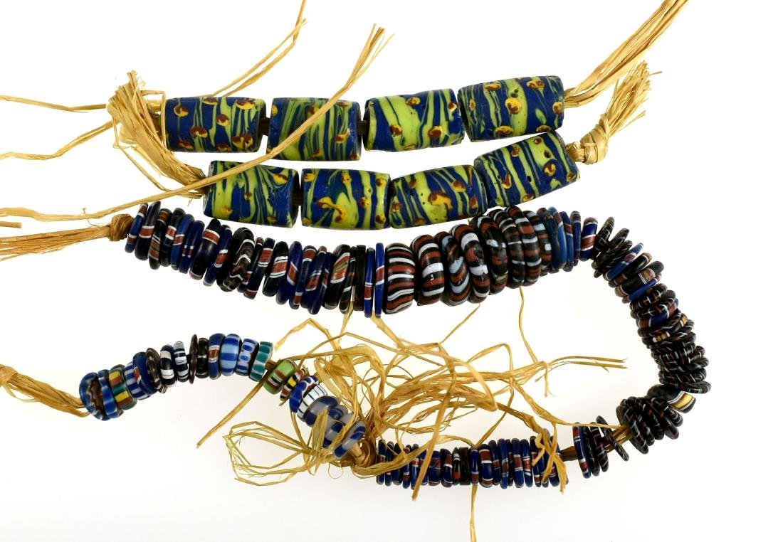 Pair of Trade Bead Bracelets
