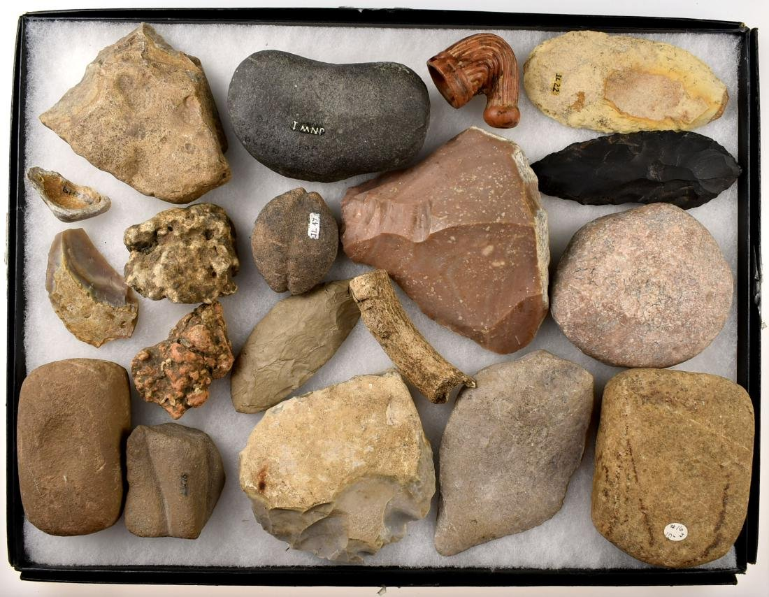 Assortment of Texas Stone tools