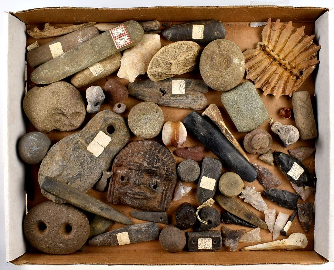 Job Lot of Assorted Artifacts