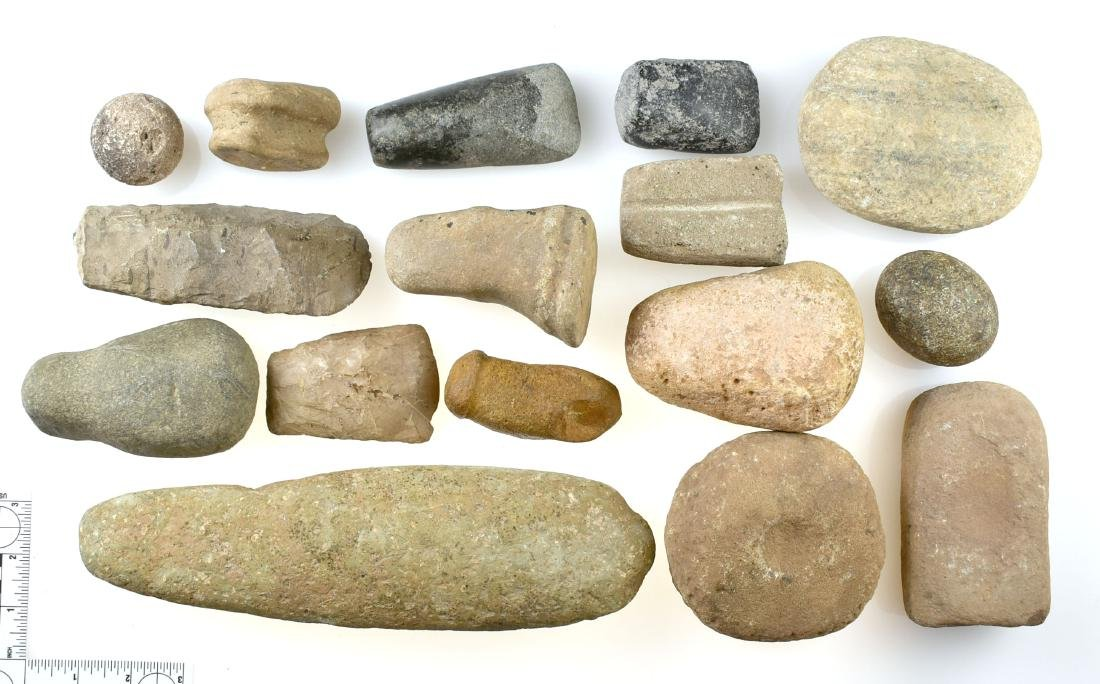 Job Lot of Stone Tools and artifacts