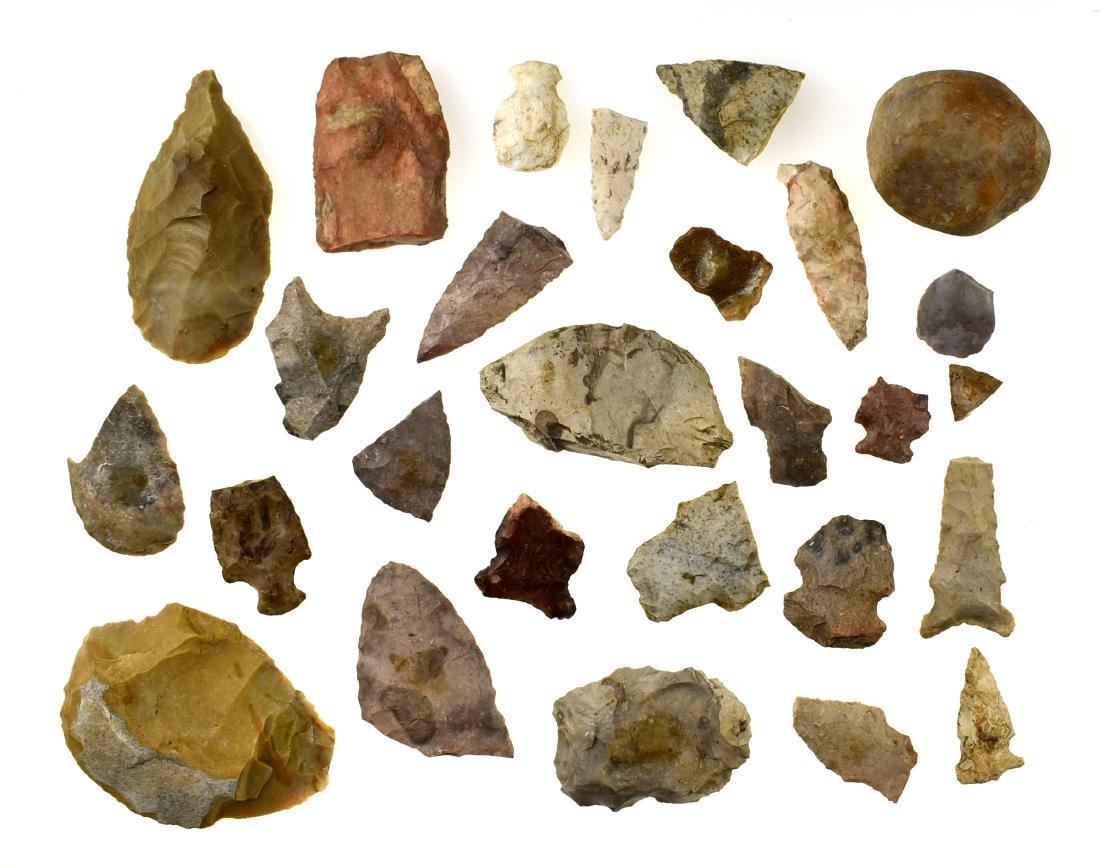 Assortment of Wisconsin Artifacts