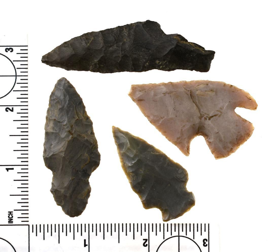4 Arrowheads