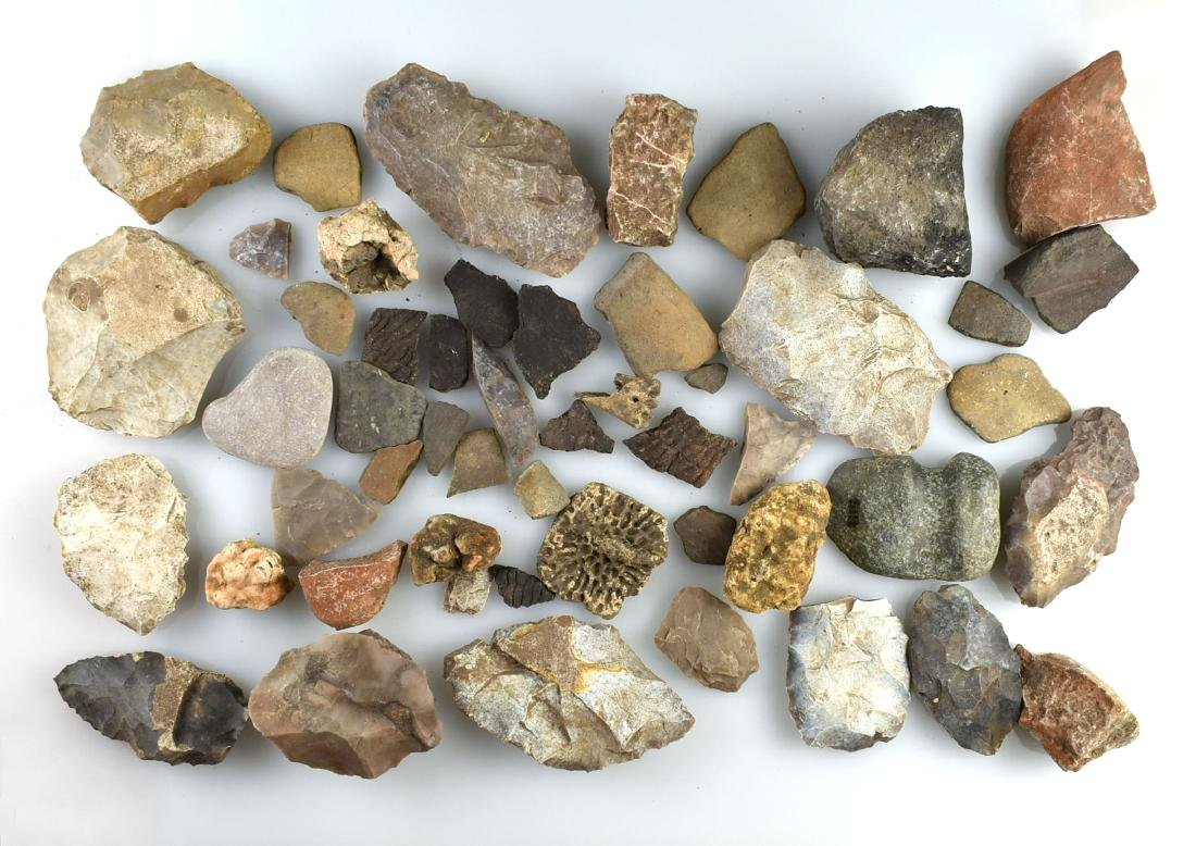 Job Lot of Texas Flint Artifacts