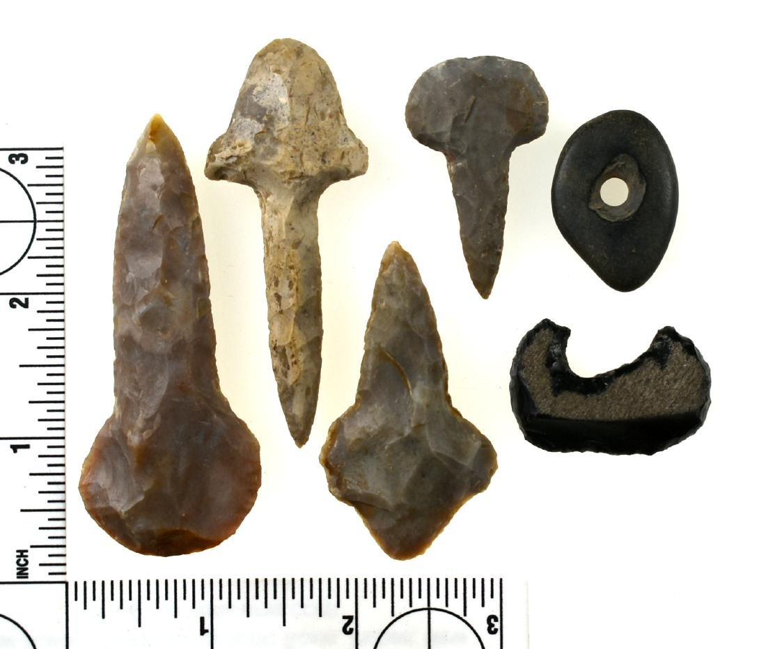 Assortment of Drills and Artifacts