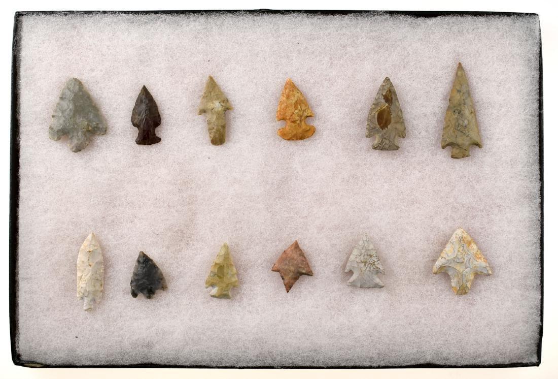 Decorative Frame of 12 Arrowheads