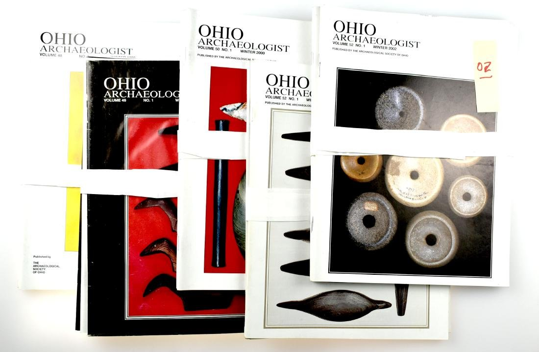 1998-2002 Ohio Archaeologist Magazines